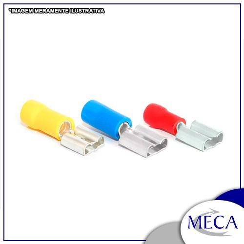 Terminais elétricos a compressão